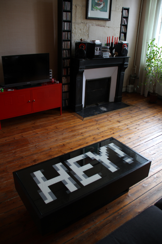 TOKI WOKI. Blog – Hey! – A Lego Table
